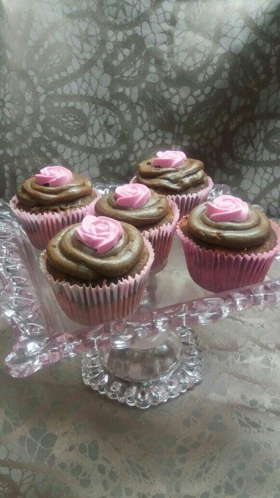 Cupcakes Morango e Chocolate