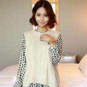 韓國女裝 chuu 上衣針織衫
