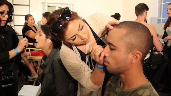 Behind the Runway - Makeup Artistry