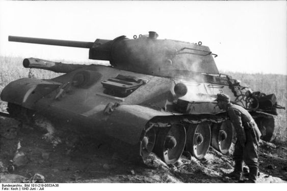 More on the T-34: reliability & ability to maneuver on soft ground - http://www.warhistoryonline.com/war-articles/t-34-reliability-ability-maneuver-soft-ground.html