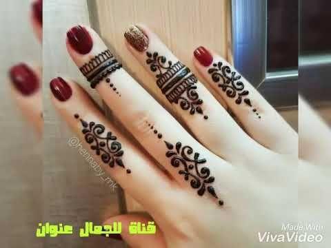 صور نقش حناء ناعم في اليدين Henna Hand Tattoo Henna Tattoo Hand Henna