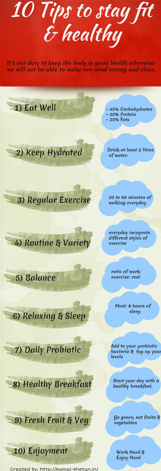 And become fit tips to healthy How to