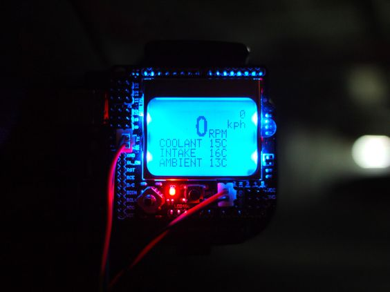 Is there a color LCD display for an arduino? - Stack