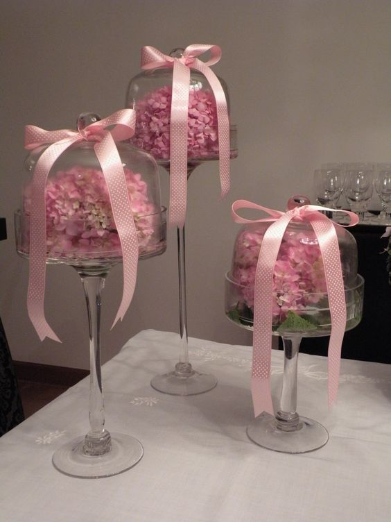 Mesas baby showers and cake plates on pinterest - Decoracion baby shower nina ...