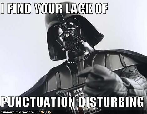 I find your lack of faith disturbing | Know Your Meme:
