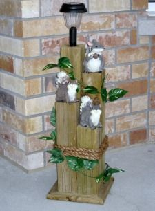 Wood crafts woodwork and solar lights on pinterest for Solar lights for craft projects