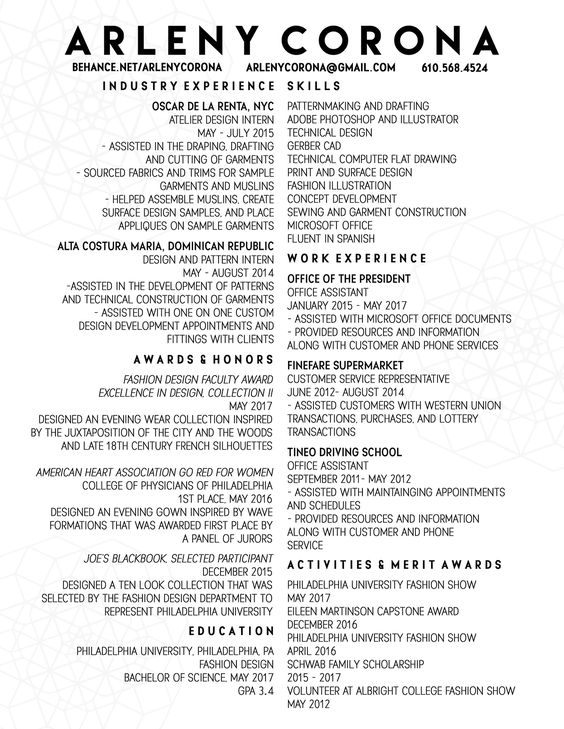70 Well Designed Resume Examples For Your Inspiration Resume   Well  Designed Resumes  Well Designed Resumes
