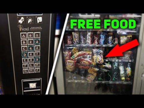 How To Make A Vending Machine Spew Out Money