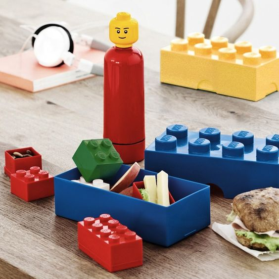 Funky Modular LEGO Storage Containers