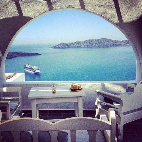 Wonderful place in Santorini