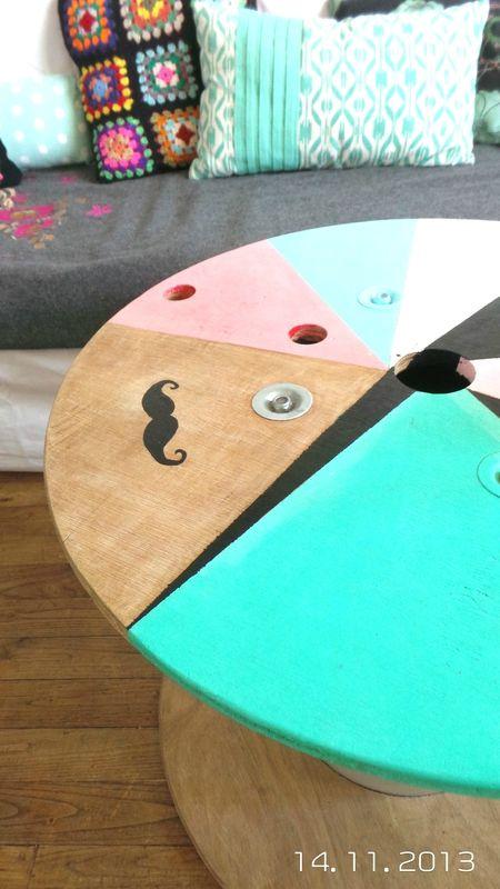 Tables on pinterest - Table basse romantique ...