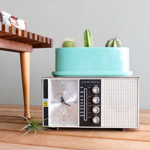 Admiral Radio/Alarm Clock now featured on Fab.