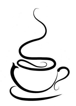 coffee cup: