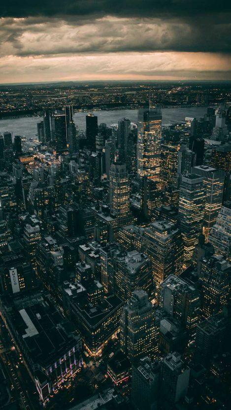 Dark Buildings Iphone Wallpaper New York Wallpaper City Wallpaper York Wallpaper