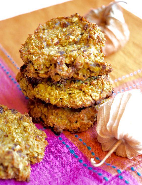 Kürbis-Hafer-Kekse