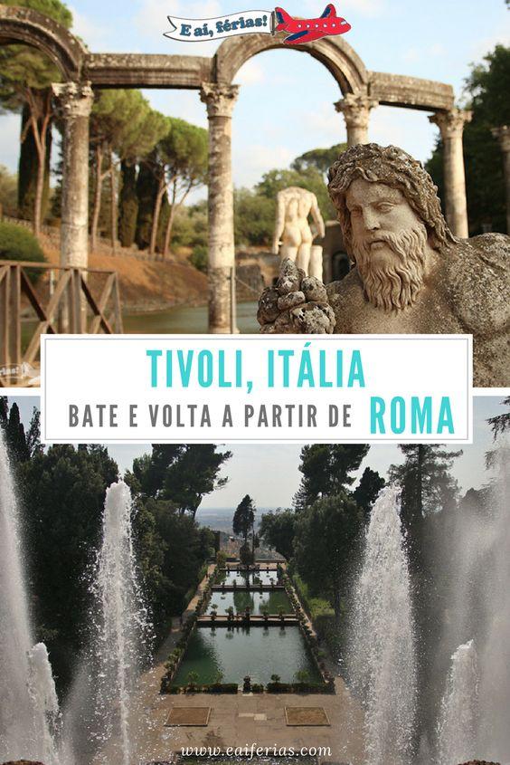 Pinterest - Tivoli, Roma, Itália