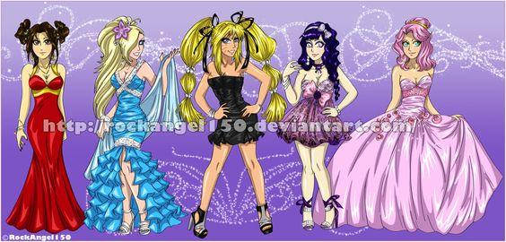 Naruko and Girls- Prom