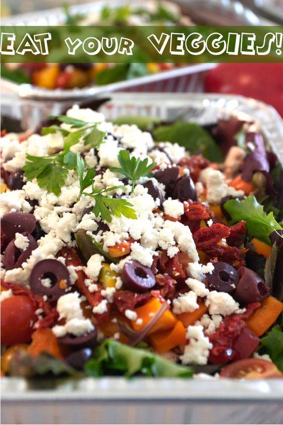 "Greek Salad ""Eat your veggies"""