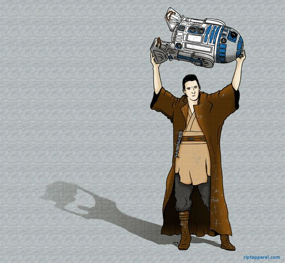 Say Anything Star Wars tshirt. Bahahaha!