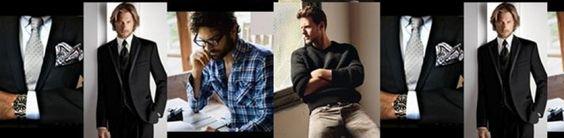 Total look Black para un hombre elegante, actual y cómodo | ~~Moda & más para ellos~~http://mariangelesbernad.wordpress.com/2012/11/24/look-blackwhite-para-un-hombre-elegante-actual-y-comodo/#