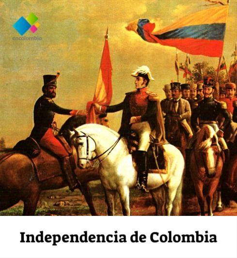 La independencia de Colombia es el periodo que se dio entre los años 1.810 y 1.819 en el que se logró terminar con el dominio español en el territorio colombiano. Durante estos años, se emanciparon los territorios que hacían parte del Virreinato de la Nueva Granada. Una serie de luchas y batallas se libraron durante ese tiempo para liberar a Colombia del dominio español; y aunque no se sabe la cifra exacta, la historia señala que la Batalla de Boyacá dejó 100 muertos y 150 heridos, pero se esti
