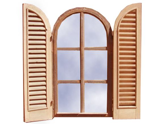 Window design window and shutters on pinterest for Custom window designs
