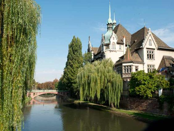 Le lycée des Pontonniers, à Strasbourg