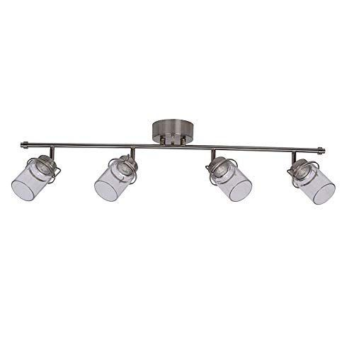 Best Farmhouse Track Lighting For Your Rustic Home We Absolutely Love Farmhouse Lighting Fixtures In 2020 Track Lighting Kits Track Lighting Farmhouse Track Lighting