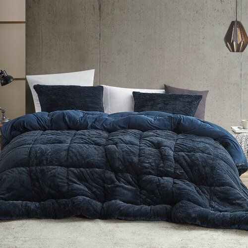 Lafond Microfiber Comforter In 2021 Comforter Sets Comforters Blue Comforter Navy blue twin xl comforter