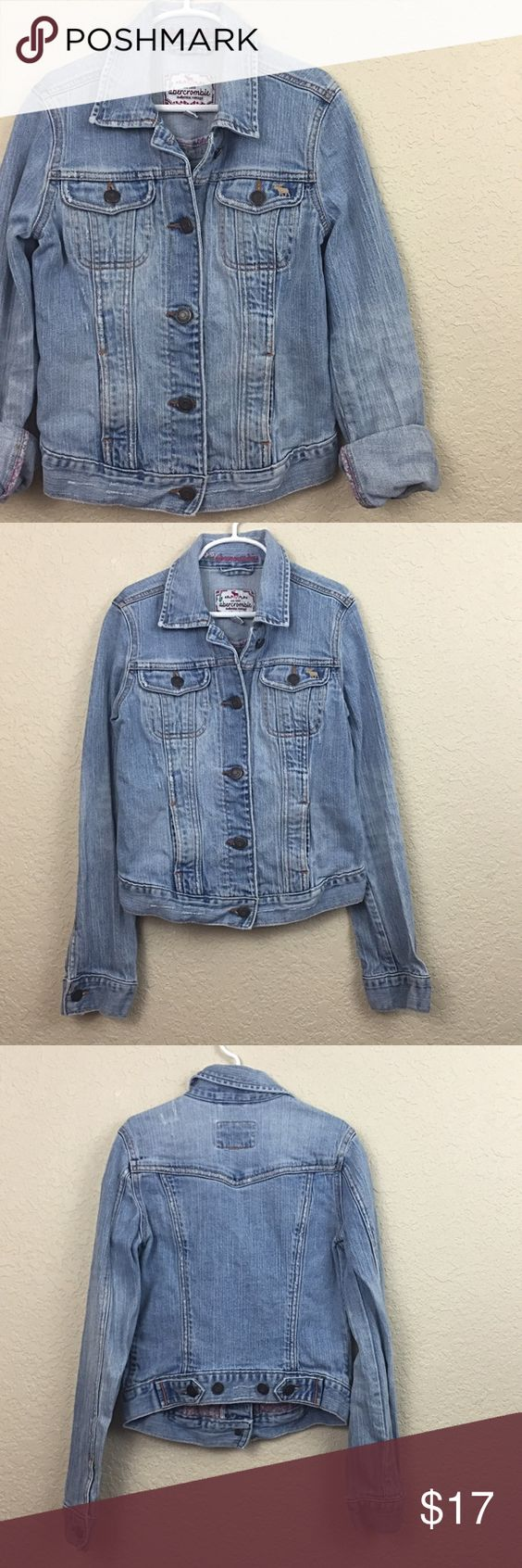 Abercrombie girls jacket Abercrombie kids girls jeans jacket no damages size small abercrombie kids Jackets & Coats Jean Jackets