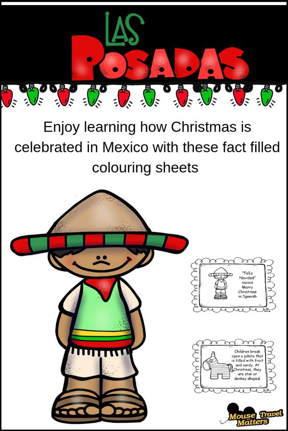 Las Posados! Your children will love completing this Christmas in Mexico mini book. This mini book is for early readers: Pre-k, Kindergarten and 1st Grade. This Christmas in Mexico mini book will let kids read easy words and pair them with the scene on the page. Kids can color in the pages for some fun!