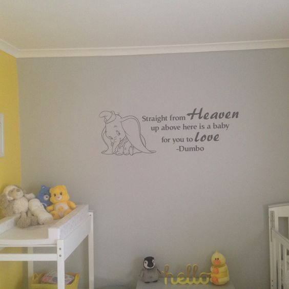 dumbo wall decal nursery and baby stuff pinterest disney dumbo shaped wall decor wall d 233 cor baby amp toys