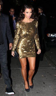 New years dress - Kim Kardashian style - Pinterest - New Year&-39-s ...
