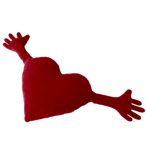 IKEA Fan Favorite for Valentine's day: FAMNIG HJARTA cushion. Give your valentine something soft to lean against and a firm hand to hold with this cute and cuddly pillow.
