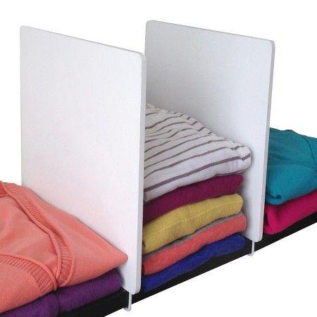 Axis Closet Shelf Dividers - 2 Pack