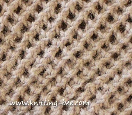 Knitting Pattern Abbreviations Yo : Stitches, Mesh and Knits on Pinterest