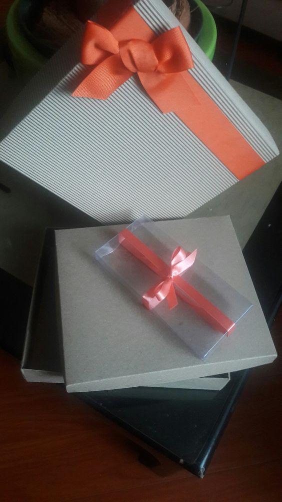 Cajas en carton craft, en venta