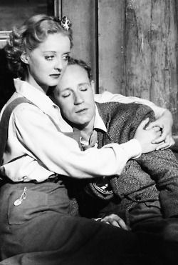 "Bette Davis and Leslie Howard, ""The Petrified Forest"", 1936"