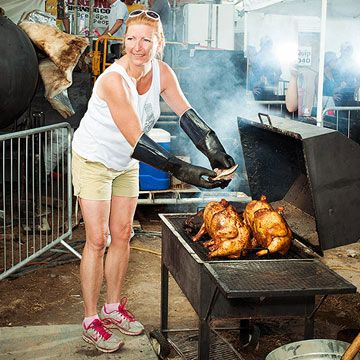 You've heard of competitive cooking, but have you heard of competition barbecue? The best part: some of the most respected (and fiercest!) contenders are women. We caught up with them at Memphis In May, one of barbecue's biggest showdowns, and found out what inspires their quest for perfect smoked meat.