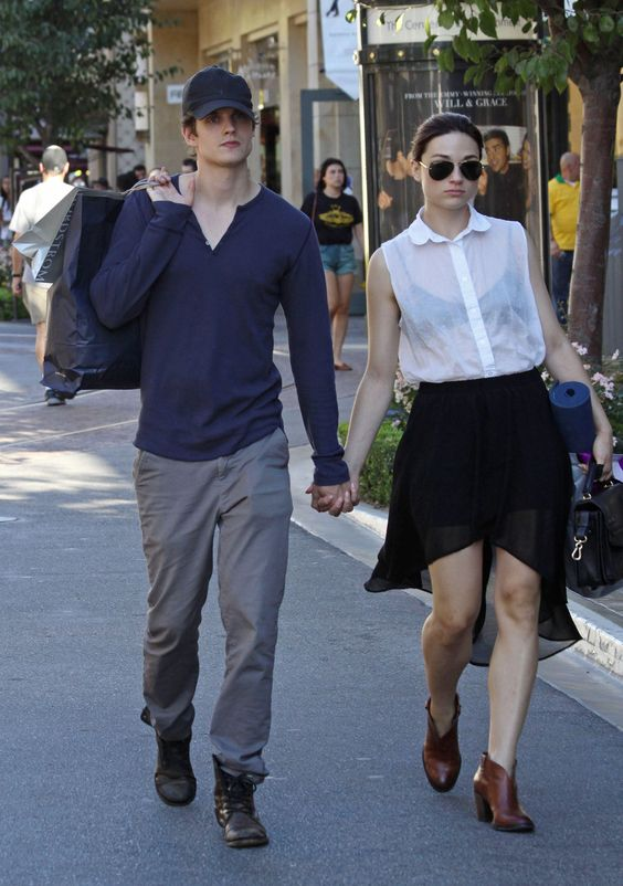 Teen Wolf's Crystal Reed and Daniel Sharman