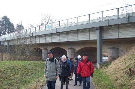 Wanderung mit der Wandergruppe der AWG Eisenach eG