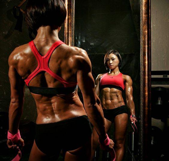 Pumpitup's Female Muscle: Chu-mi Kim