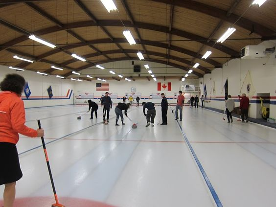Spring event - Curling!!