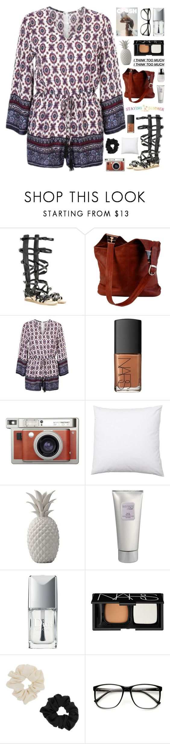 """STAYING🌴SUMMER"" by novalikarida ❤ liked on Polyvore featuring NARS Cosmetics, Lomography, Bloomingville, Laura Mercier, Christian Dior, Miss Selfridge, ZeroUV, summerstyle, summer2016 and stayingsummer"