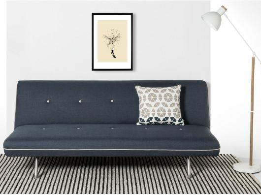 Miki Sofa Bed Quartz Blue Sofa Bed Sale Sofa Comfortable Sofa