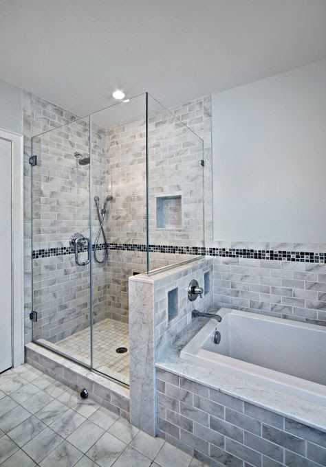2 1 2 Walls Bathroom Remodel Shower Master Bathroom Shower Bathroom Makeover