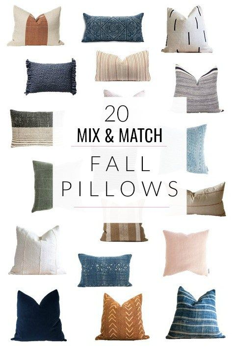 Mix And Match Throw Pillows For Fall Jane At Home Fall Pillows Pillows Throw Pillows