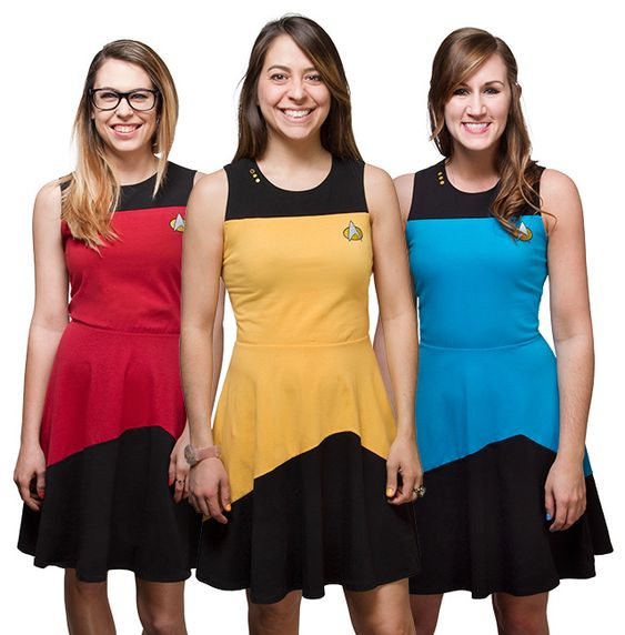 Star Trek TNG Starfleet Dress - Exclusive