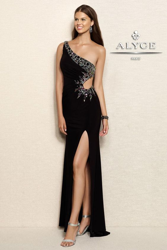 Prom Dress by Alyce Paris6094Touch of Sexy!