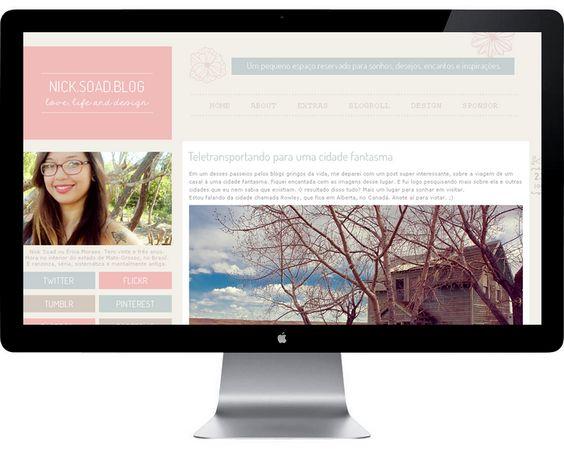 Erica Moraes: Webdesign